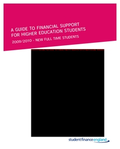 a guide to financial support for higher education students in 2009 rh dera ioe ac uk Guide Financial Charlotte NC OJP Financial Guide