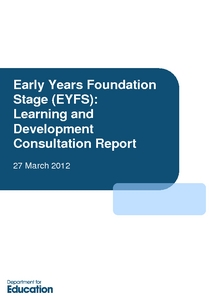 eyfs revised edition march 2012 This edition features three of the six reports written  justice within the new early years foundation stage  from september 2012 a revised eyfs curriculum.