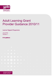 Adult Learning Grant 108