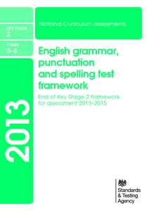 English Grammar Punctuation And Spelling Test Framework | Journal ...