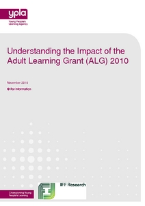 Adult Learning Grant 101