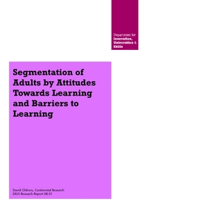Barriers to Learning for Adult Learners - SSRN